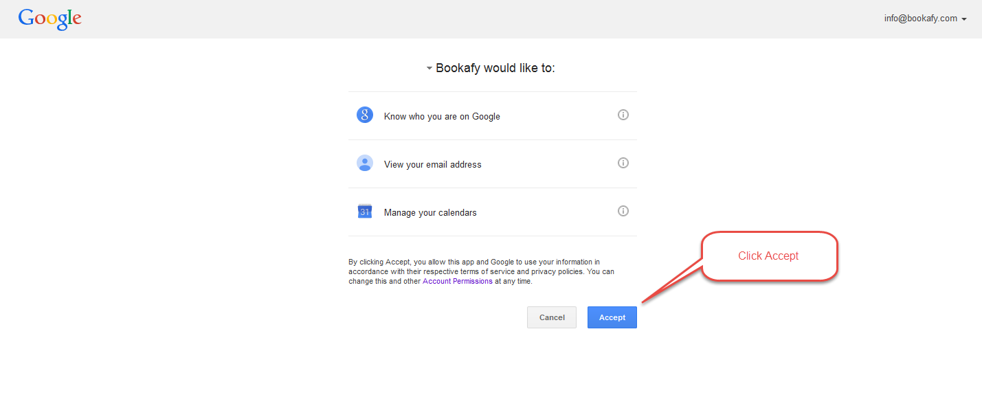 Google-Accept Frequently Asked Questions